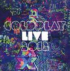 Coldplay Live 2012 DVD/CD 2 Disc Set Region All Disc's VGC