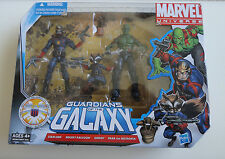 MARVEL UNIVERSE *GUARDIANS of the GALAXY* GIFTPACK - STARLORD+RACCOON+GROOT+DRAX