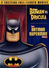 BATMANvsDRACULA&THE BATMAN,SUPERMAN MOVIE(BRAND NEW DOUBLE FEATURE)2HR 25minutes