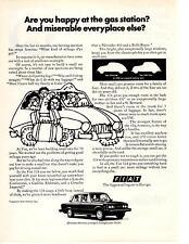 1974 FIAT 124 COUPE  ~  NICE ORIGINAL PRINT AD
