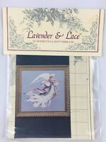 "LAVENDER & LACE VICTORIAN DESIGNS ""Angel of Spring"" Stitch Chart L&L 23"