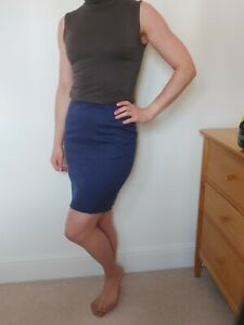 FRED PERRY by Richard Nicoll Blue designer Skirt above knee