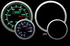 "Oil Pressure Gauge-Electrical-Green/White 52mm(2 1/16"") Inc. Sender-Prosport"