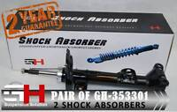 2 FRONT SHOCK ABSORBERS MERCEDES C-CLASS W204 01.2007->, S204/GH-353301K/