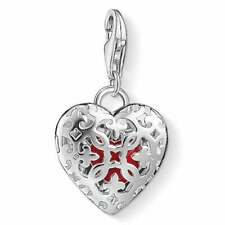 THOMAS SABO CHARM CLUB PENDANT 925 Sterling Silver HEART IN HEART LOCKET £98 RRP