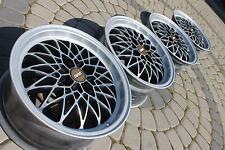 """15"""" MESH alloys 4x100 VW Golf GTI polo caddy corrado BMW e30 lupo arosa CLIPPER"""