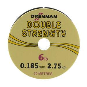 Drennan Double Strength Fishing Line 50M - All Sizes - Coarse Fishing