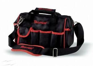 "Starrett Heavy Duty 12"" Small/Mini Multi Pocket Contractor Tool Holdall Bag BGS"