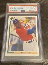 1991 Upper Deck Baseball MICHAEL JORDAN #SP1 PSA 6 EX-MT