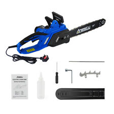 "Electric Chainsaw Powerful 2200W 40cm /16"" Bar & Auto Chain; Chain Brake"