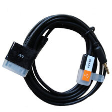 3.5mm 30Pin to USB Aux Car Charger Audio Cable Adapter for iPhone4 4S iPod