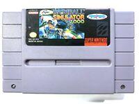 SUPER BASEBALL SIMULATOR 1.0 - SNES Super Nintendo Game Tested Working Authentic