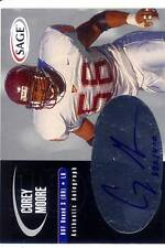 corey moore rc rookie draft auto autograph virginia va tech hokies college #/400