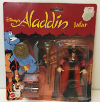 SEALED Mattel Disney's Aladdin Action Figure - JAFAR W/ Genie Coin & Treasure
