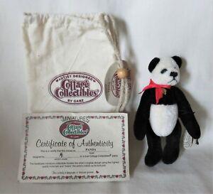 "Ganz Artist Designed Cottage Collectibles Miniatures 4 1/4"" - ""Panda"""