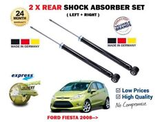 FOR FORD FIESTA VI 1.25 1.4 1.6 2008-->  2X REAR SHOCK ABSORBER SHOCKER SET KIT