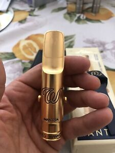 Theo Wanne Mantra 9 gold Plated tenor sax mouthpiece clean!