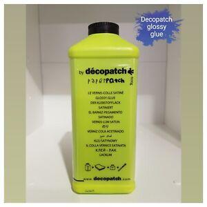 Decopatch Glue, Decoupage Glue, Paper, Napkin Glue, Large 600g