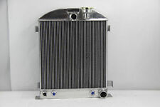 "1937-1938 New 3 Row Radiator Chevy-Engine Ford-Grill-Shells 3""-Chopped 37-38"