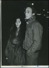 John LENON and Yoko ONO: Original 1976 Photograph