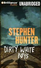 Stephen Hunter DIRTY WHITE BOYS Unabridged CD *NEW* FAST Ship !