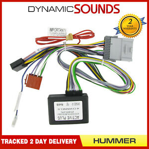 CT53-HU01 Active System Amplifier Interface Adaptor Lead for Hummer H2 H3