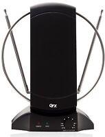 QFX HD DTV VHF UHF FM HDTV 1080p TV TELEVISION ROTATING INDOOR ANTENNA ANTENA