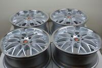 4 New DDR T1 18x8 5x114.3 40mm Silver/Polished Lip Wheels Rims