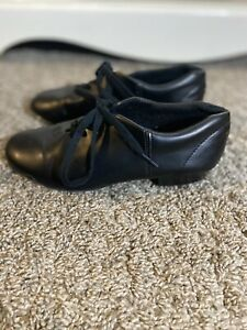 Black tap shoes girls size 5 1/2
