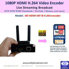 Portable Camera-top WiFi HDMI H.264 encoder for IPTV live streaming broadcast