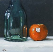 Original Art - hand painted Oil painting -  still life by j payne