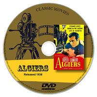 Algiers 1938 Classic DVD Film - Drama, Mystery, Romance