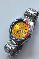Vintage Pulsar Y563-6019 Quartz Divers Watch Pepsi Bezel Original Bracelet Teste