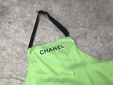 Chanel Green Apron Not for sale Super Rare Novelty Big Pockets Uniform