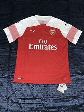 Puma Arsenal Red 2018/19 Replica Home Jersey Size Large