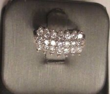 Mm Wide 5.60 Grams Size 8 14K Gold Cubic Zirconia Ring 10