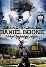 Daniel Boone: A True American Legend - Includes 4 Bonus Movies (DVD, 2015)