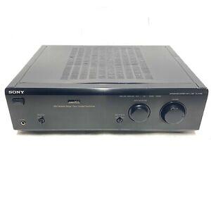 1996 SONY TA-F448E Integrated Stereo Amplifier PowerMos Bi-Wire Phono 170W VGC