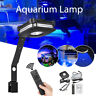 4 Channel LED Aquarium Fish Tank Light Coral Reef Saltwater Lamp Clip Dimmable