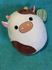 WoW a CoW 8� Ronnie Brown White Farm Squishmallow Plush Toy Easter 2021 Htf