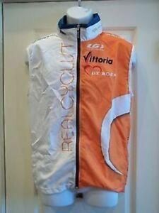 Real Cyclist Pro Cycling Team Louis Garneau Mens Large Wind Vest