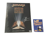 *BAM BOX JUMANJI 8x10 HAND SIGNED BY BRADLEY PIERCE WITH C.O.A LIMITED TO 99