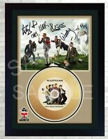 NEW! Madness One Step Beyond Mini Gold Vinyl CD Record Signed Framed Photo Print