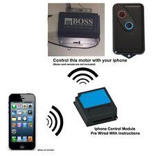 Iphone Remote Control Your BOSS BOL4 OL4 Garage Door Opener 2211-l HT4 HT3 BHT4