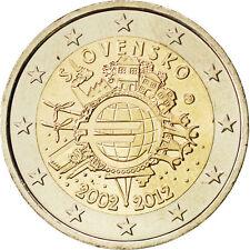 [#84986] Slovaquie, 2 Euro 10 ans de l'Euro 2012