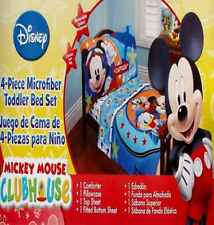 Disney Mickey Mouse Captain Blue Comforter Sheets 4Pc Toddler Bedding Set New
