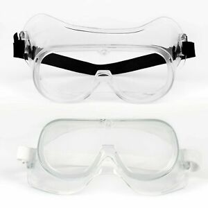 UNISEX Safety Goggles with Vented Anti-Fog, Anti-Scratch and