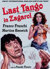 LAST TANGO IN ZAGAROL (1974) Martine Beswick Rarity UNCUT DVD NTSC NEW