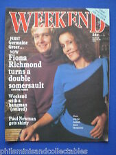 Weekend Magazine - Fiona Richmond, John Sullivan     23rd May 1984
