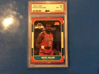 1986 Fleer Basketball Moses Malone #69 PSA 6